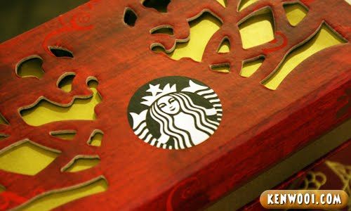 starbucks mooncake box