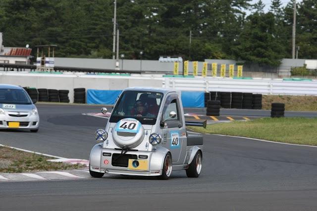 Daihatsu Midget II, K100P, kei car, kei truck, JDM, japońskie ciekawostki, dziwne samochody