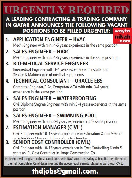 Job Vacancies In Qatar Gulf Jobs For Malayalees