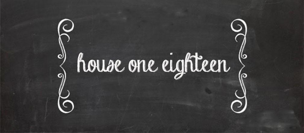 house one eighteen