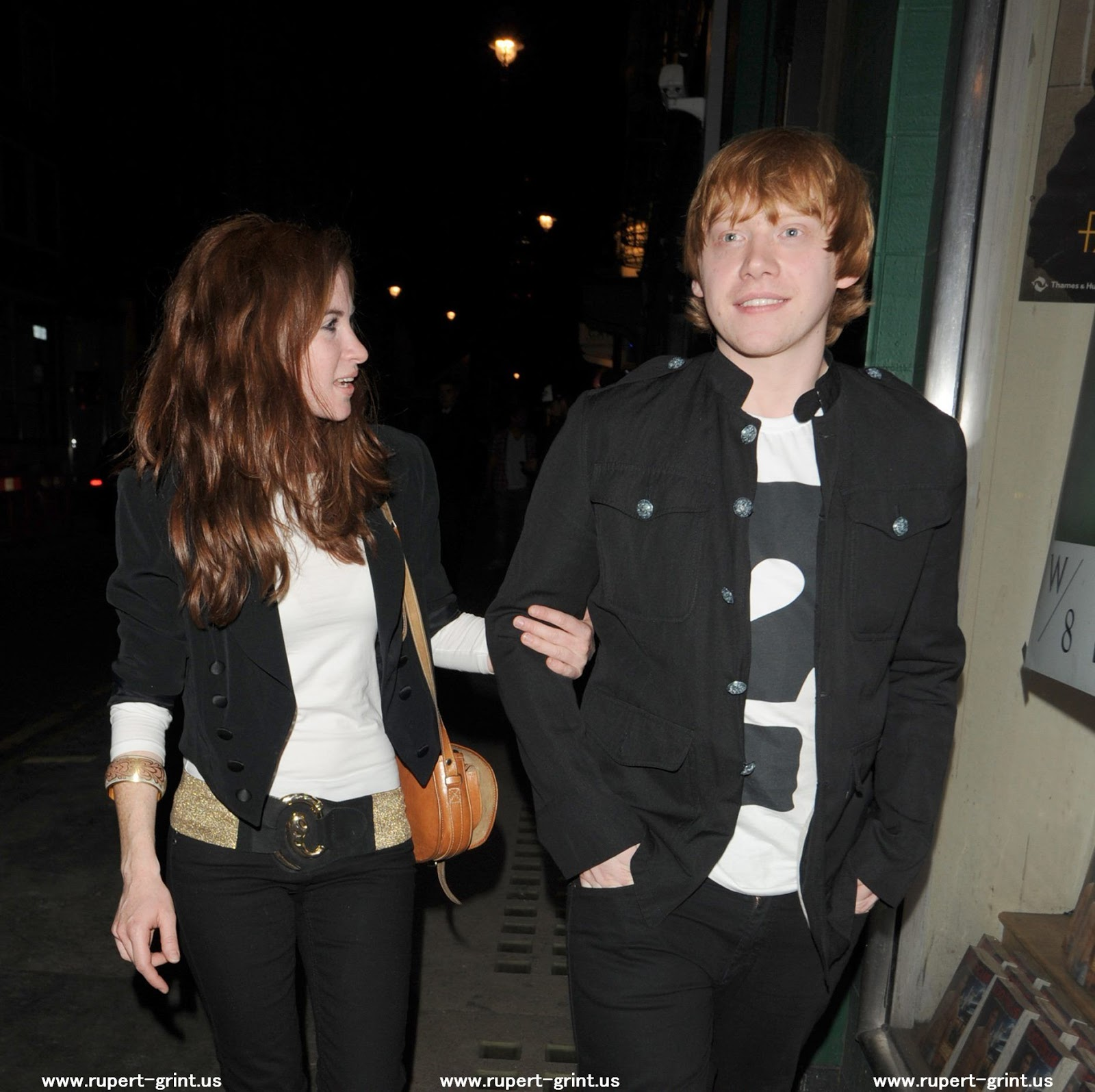 Harry Maguire Wallpaper: Rupert Grint With Girlfriend Pics,Images 2011