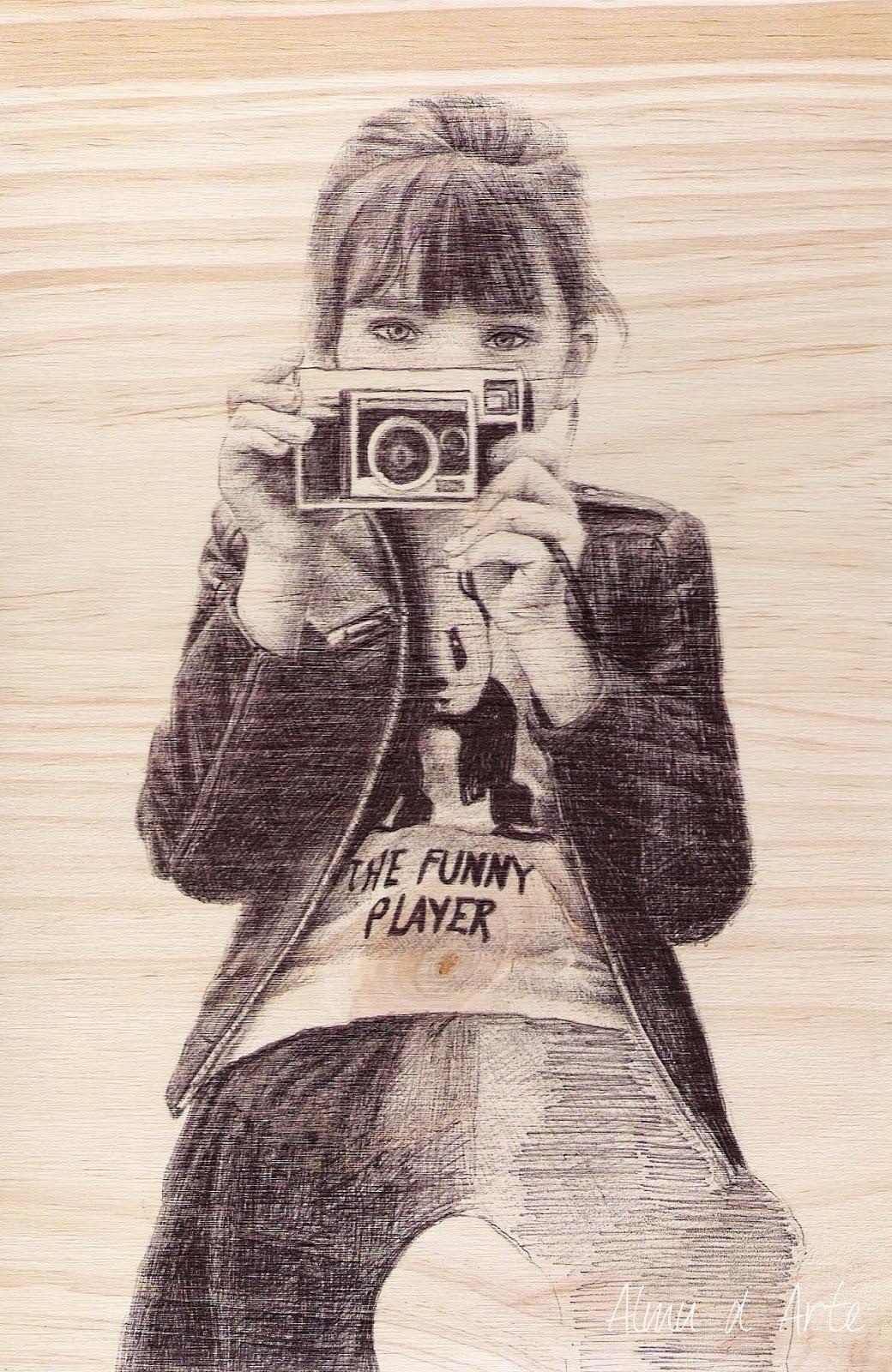 Retrato con bolígrafo