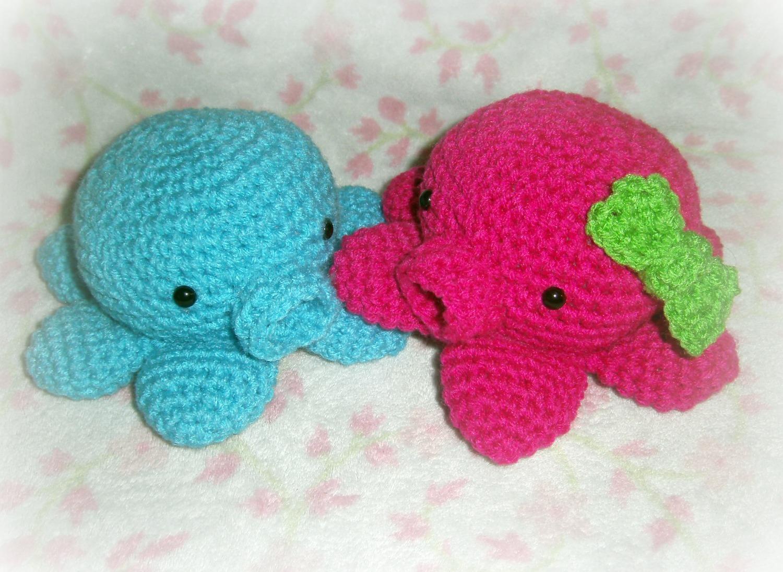 Amigurumi Octopus Pattern : Whimtastical Creations: Cute Little Octopus Amigurumi