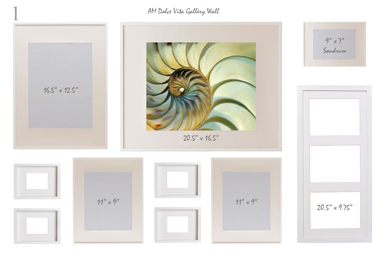 different size picture frames - Mardan.armanmarine.co