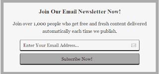 Cara Membuat Widget Berlangganan Email Subscribe Blog