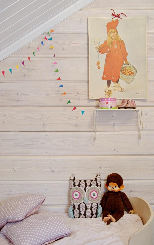 monchhichi crochet owl, leander bed