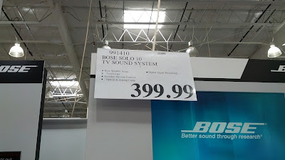 Bose Solo 10 TV Sound System great deal at Costco