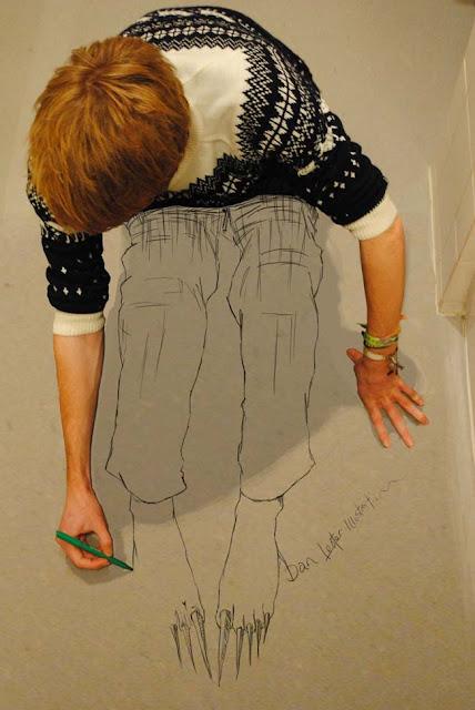 Orgininality Pencil Drawing By Dan Lester