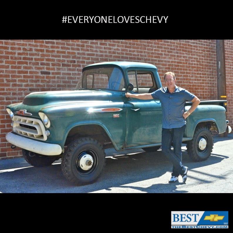 1957 Chevrolet NAPCO Green #BestChevy