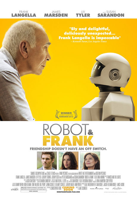 Movie poster for Robot & Frank 2012
