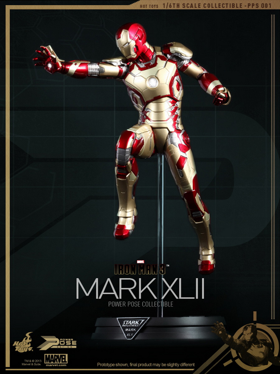 Iron Man 3 Movie 2013 Posters and WallpapersIron Man 3 Poster Wallpaper Mark 42