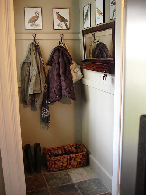 Loft cottage end of summer entryway refresh for Cost to build a mudroom