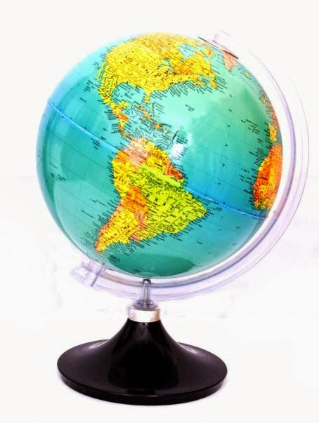CBSE Class 6 - Geography - Ch2 - GLOBE : LATITUDES AND LONGITUDES