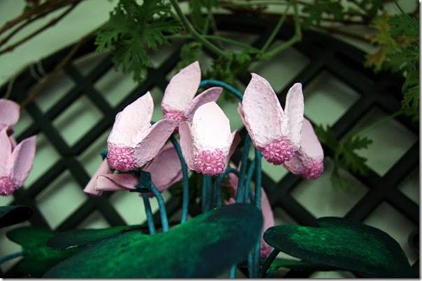 Macetero con Flores de Carton, Ideas Bonitas Paso a Paso