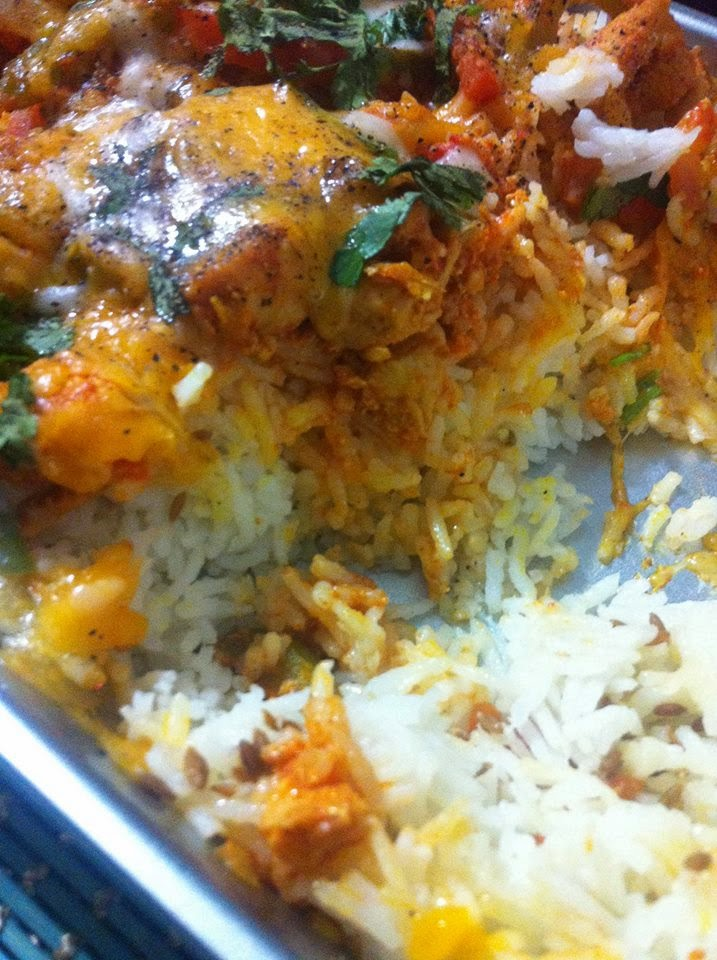 http://www.nazkitchenfun.com/2013/07/tandoori-chicken-cheesy-rice.html