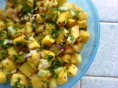 Piquant Pineapple Salsa
