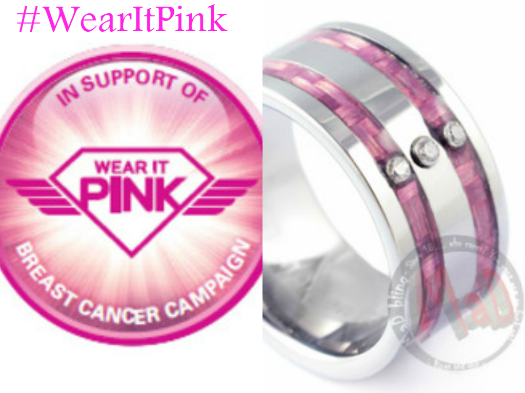 MaD Tungsten Rings: #WearItPink: Mad Tungsten Supports Awareness for ...