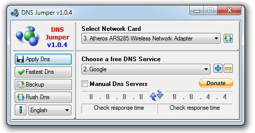 DNS Jumper Cara Membuka Situs Yang Diblokir Nawala Project