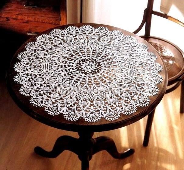 Centro de mesa a crochet todo patrones crochet gratis for Centro de mesa a crochet