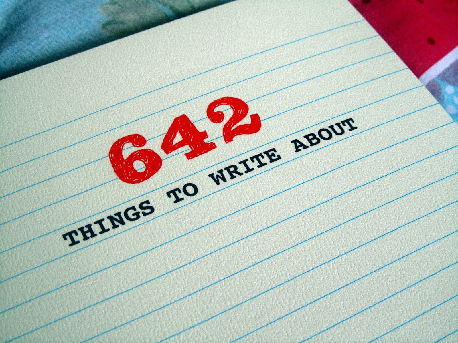 Books like 642 Things to Write About