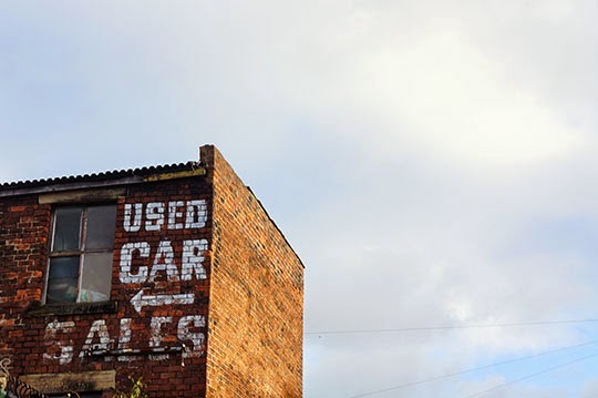 used car sales, urban, photography, contemporary, photo,
