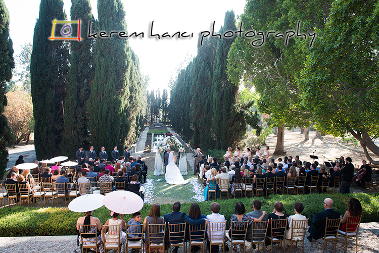 This gorgeous garden is one of the most wonderful locations for a wedding ceremony
