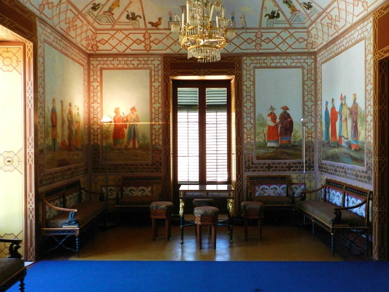 Palermo E Dintorni Ma Anche : Palazzina Cinese #0D57BE 1280 960 Nella Sala Da Pranzo In Francese