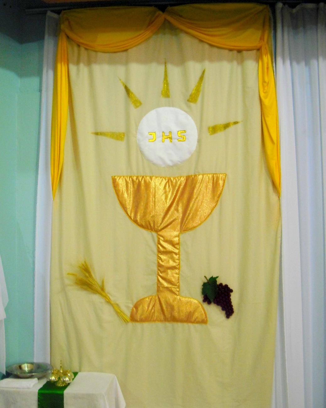 CASA'ART DECORA u00c7ÃO PRIMEIRA COMUNHÃO -> Decoração Para Primeira Comunhão Na Igreja
