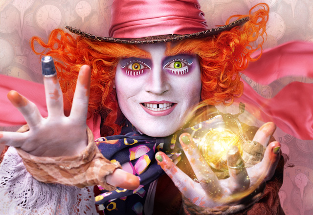 Alice Through The Looking Glass 2016 Movie Review Trailer Poster