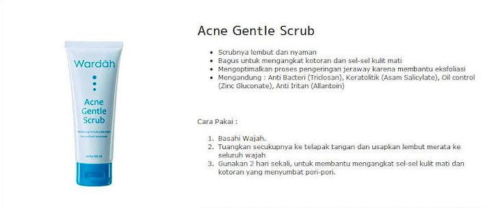 Acne Gentle Scrub - $8