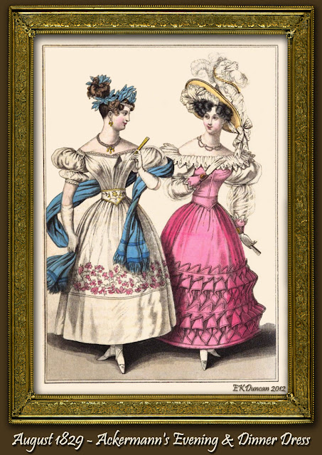 French style evening dress and dinner party dress