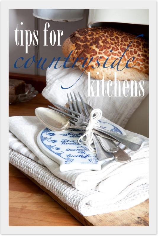 tips til landlige kjøkken