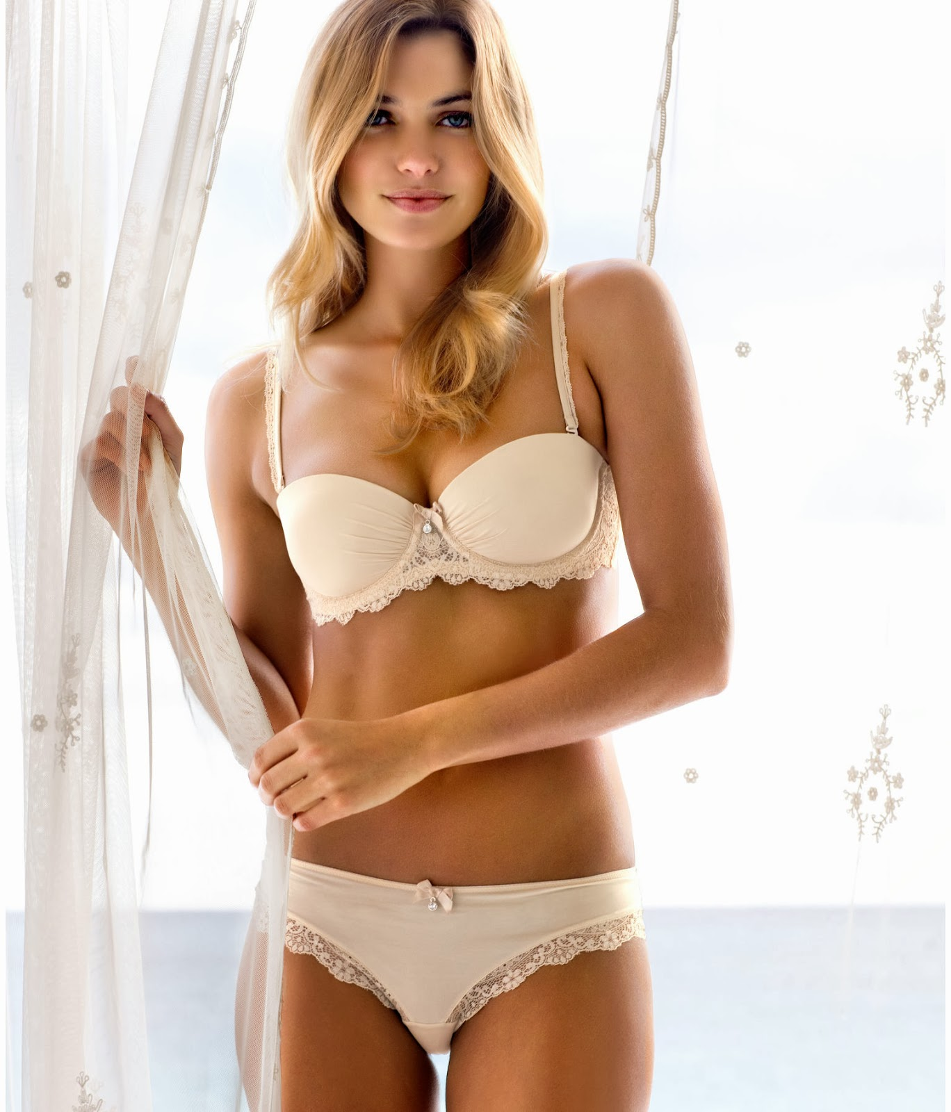 Jessica Hart in Lingerie