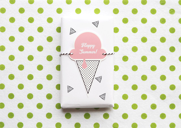 Printable Popsicle and Ice Cream Gift Tags   Sweet Tooth