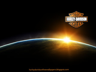 Harley Davidson Free Wallpapers Harleys Logo in Space Eclipse from Earth