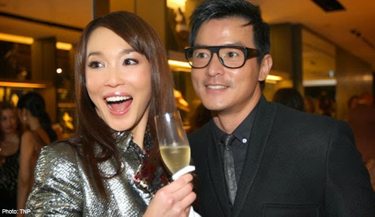 SINGPOST~ QUEST FOR AMUSEMENT: Fann Wong and Christopher ...