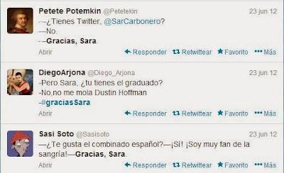 Burlas a Sara Carbonero tras su cobertura de la Eurocopa de 2012