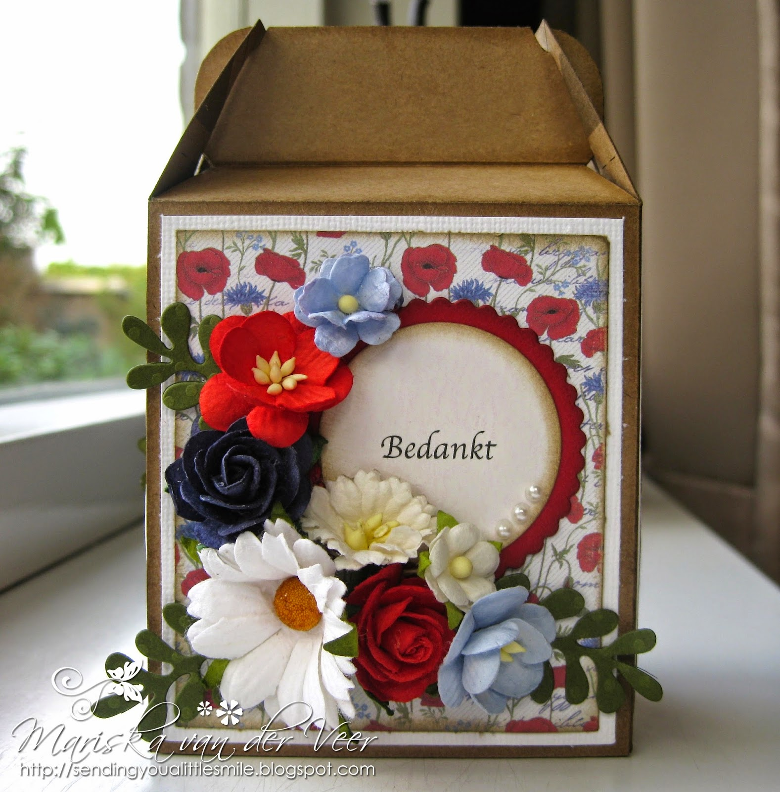Wild Orchid Crafts: Little thank you gift