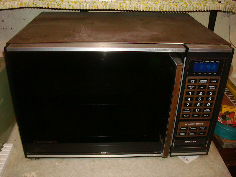 Old Microwave Oven ~ Monster dad resurrecting the past january  part
