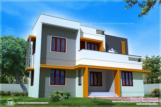 Square Modern House Design