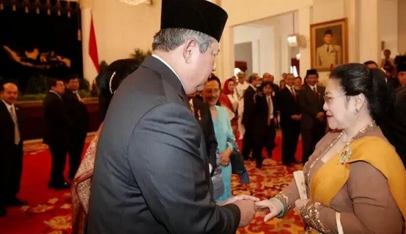 Presiden ke 5 dan 6 RI SBY dan Megawati