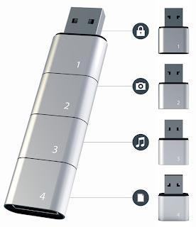 Модульные USB-накопители