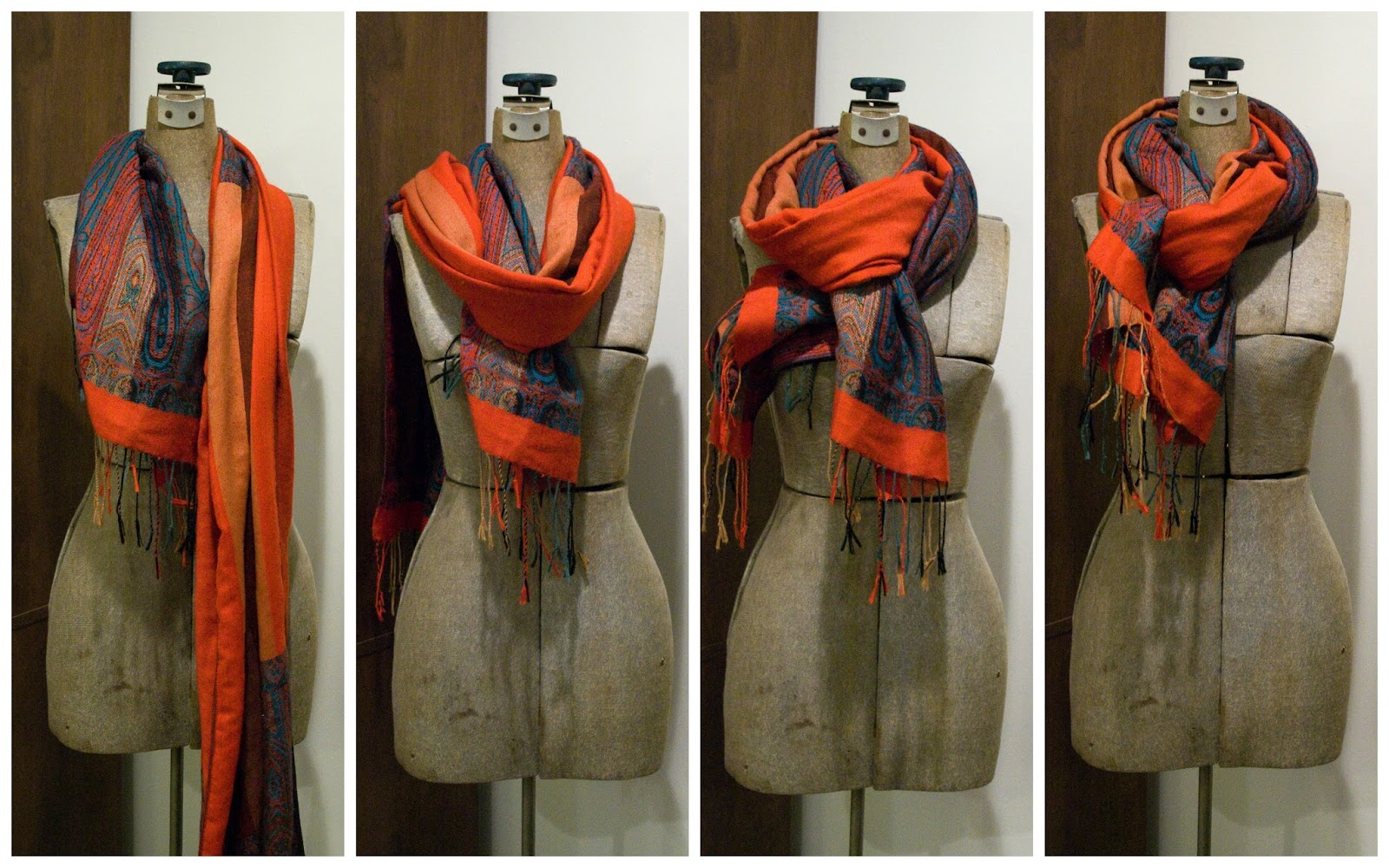 How to tie a winter scarf  Time Out  Best Things To Do