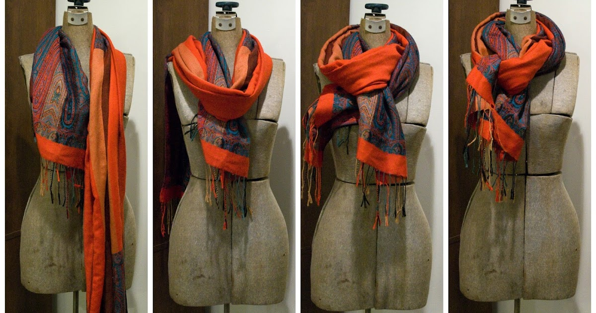 Five Sixteenths Blog Trend Tuesday 3 Ways To Tie A Scarf