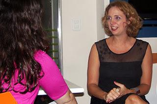 Entrevista exclusiva com Letícia Isnard
