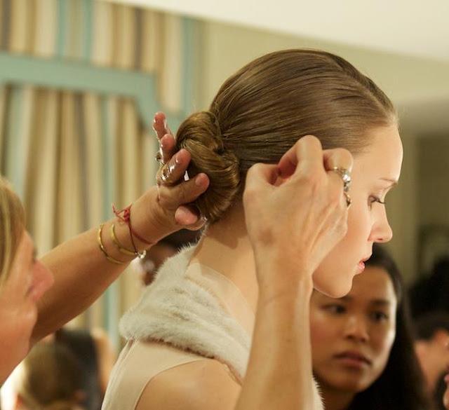 Partei Hairstyle | der Knoten ist alles