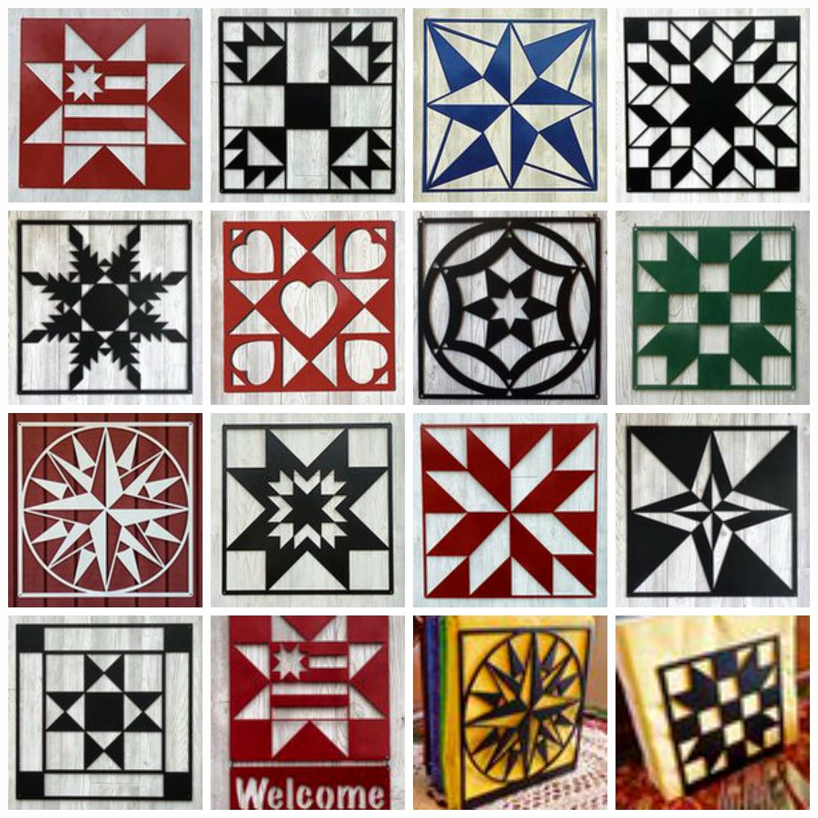 Crayon Box Quilt Studio: July 2014 : barn quilt pattern meanings - Adamdwight.com