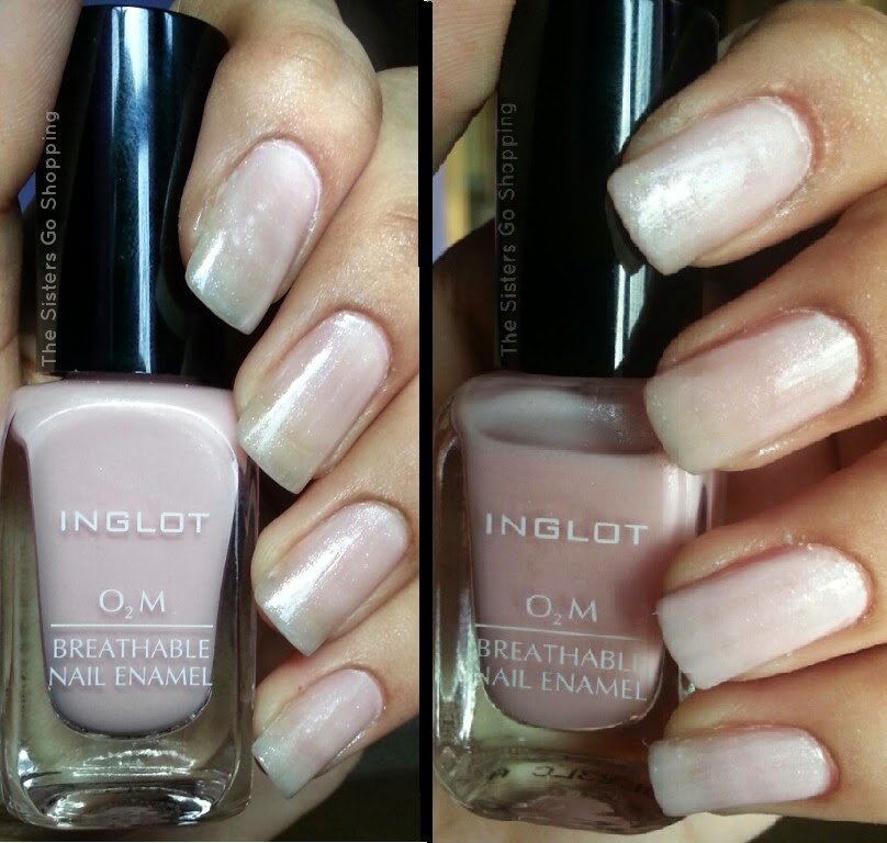 INGLOT O2M NAIL ENAMEL IN 603- REVIEW & SWATCHES ~ The Sisters Go ...