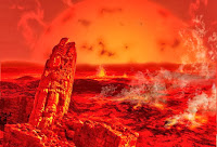 The sun becomes a red giant and envelops earth!