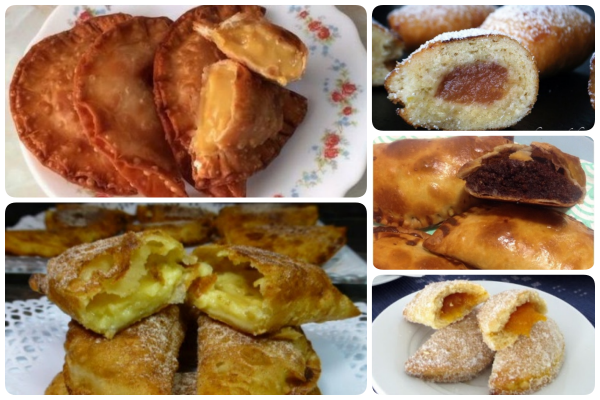 Cinco versiones de empanadillas dulces